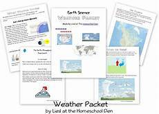 nature and weather worksheets 15158 free weather packet homeschool den