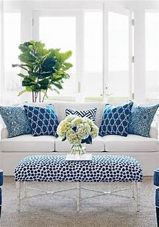 Home Decor Ideas For Living Room Blue by Blue White Rooms And Affordable Blue White