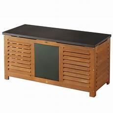 Truhe Für Gartenpolster - auflagenbox santa fe 62x128x52 5 hartholz garten