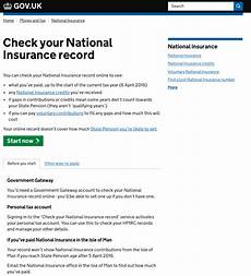 is national insurance a pension how to check your national insurance contributions record