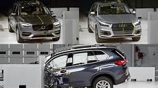 2019 bmw x5 vs audi q7 vs volvo xc90 crash test