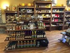 rustic wood retail fixtures displays shelves gondola store