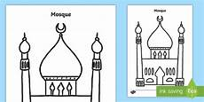 places of worship worksheets ks2 16010 mosque template activity sheet muslim islam place of