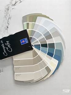 how to pick paint colors with confidence setting for four