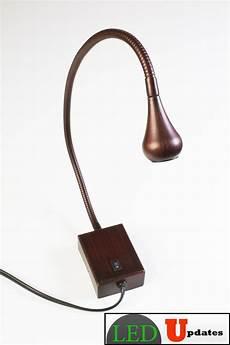 ledupdates bed side gooseneck reading led light wall mounted bronze finish 5000k ebay