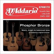 soft acoustic guitar strings d addario epbb170 pb soft acoustic bass string set musician s friend