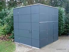 Gartenhaus Hpl Metall Kunststoff Garten Q Gmbh