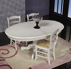 Table Ovale Pied Central Delphine En Merisier Massif De