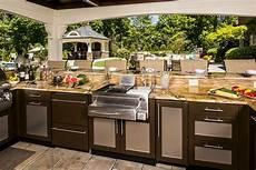 outdoor kitchen ideas brown outdoor kitchens