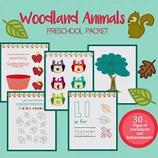 crafts worksheets 20315 introduce the changing season with this fall and woodland themed preschool packet preschool