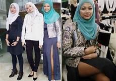 Dunia Pakai Jilbab Tapi Pamer Paha Wanita Malaysia Ini