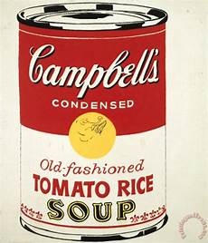 Andy Warhol Cbell S Soup Can C 1962 Fashioned