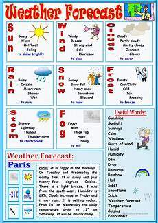 weather forecast worksheet free esl printable worksheets made by teachers
