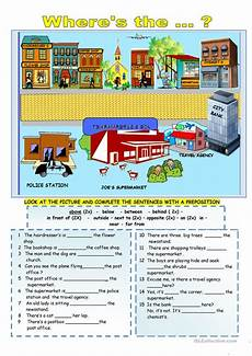 places in town writing worksheets 16040 this is my city worksheet free esl printable worksheets made by teachers