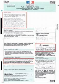 avis de contravention pour non d 233 signation du conducteur