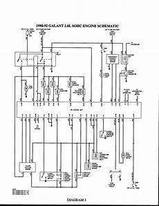 1999 mitsubishi mirage wiring schematics repair guides