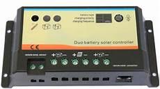 regulateur de charge de batterie r 233 gulateur de charge 10a 12 24v deux batteries
