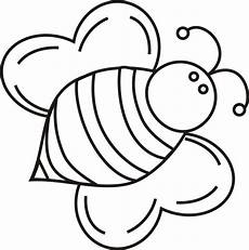 bee coloring page cliparts co