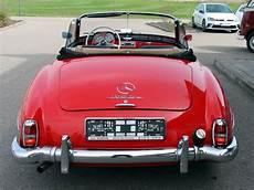Oldtimer Mercedes 190 Sl Cabrio