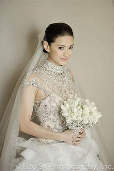 Maricar Wedding Gown official photos richard poon and maricar reyes nuptial