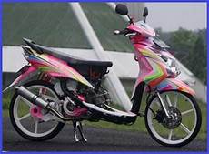 Modifikasi Motor Matic Mio Sporty by Modifikasi Yamaha Mio Sporty Mio Matic Terkeren Simple Acre