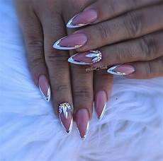 white tip nails white tip nail designs inspiration