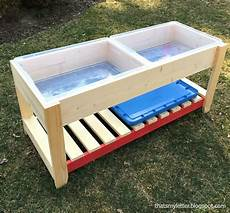 Diy Sand And Water Play Table For In 2019