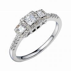 jcpenney 12 ct vintage diamond engagement blue diamond wedding rings