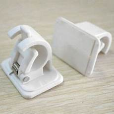 vorhangstange zum klemmen steck plastik stangen halterung aufh 228 nger clip