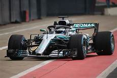 Mercedes Amg S 2018 F1 Car Revealed At Silverstone