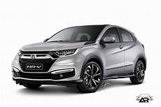 2018 Honda Hr V Facelift Rendering