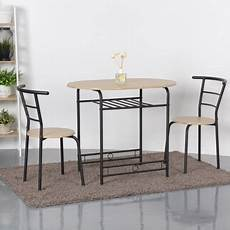 Walmart Kitchen Furniture Gymax 3 Dining Set Home Kitchen Furniture Table And