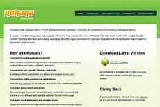 a comprehensive list of php frameworks blueblots com