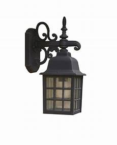 norfolk 1 light black double insulated outdoor wall light