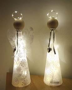 basteln weihnachten erwachsene 1 bastelpackung gl 252 cksengel mit beleuchtung