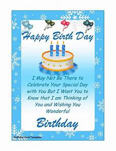 birthday card layout for word 41 free birthday card templates in word excel pdf
