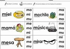 flashcards homework syllables ma me mi mo mu color b w