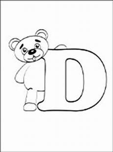lettere alfabeto da stare e colorare dibujo de letra d dibujos de letras para imprimir