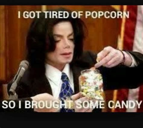 Michael Jackson Popcorn Meme