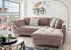 microfaser sofa ecksofa in rosa microfaser sofa kaufen bei