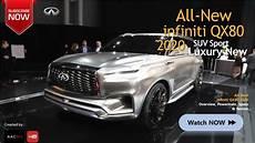 all new 2020 infiniti qx80 big suv luxury car