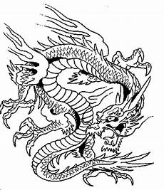 Ausmalbilder Chinesische Drachen Terrifying Coloring Pages Netart