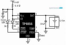 tp4056 lithium ion battery charger circuit 18650