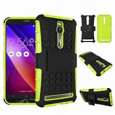 for asus zenfone zenphone 2 5 5 hybrid impact armor rugged case stand cover ebay