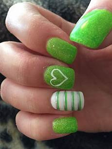 lime green nails in 2019 green nail designs green
