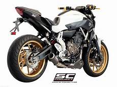 yamaha mt 07 sc project cr t exhaust by sc project yamaha mt 07 2015 y14 c38