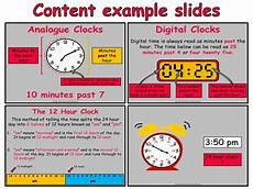 time year 4 animated powerpoint presentation and