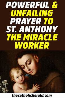 prayer to st gregory the wonderworker miracle worker powerful and unfailing prayer to st anthony the miracle