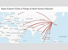 distance from north korea to california,can a missile reach america,distance from north korea to japan