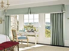 gardinen für wohnzimmer große fenster gro 223 e fenster vorhang ideen